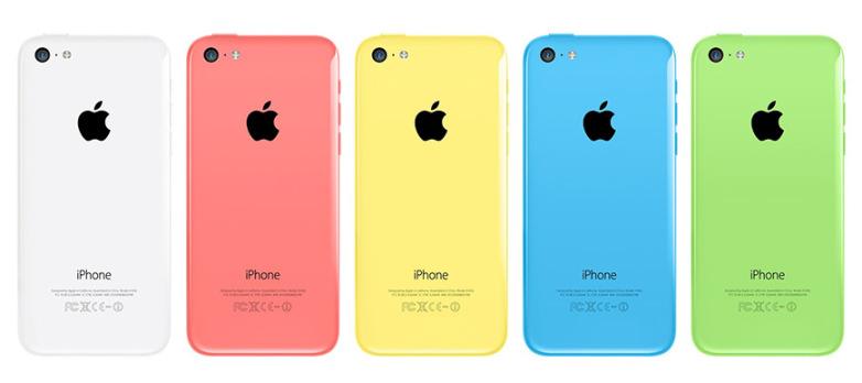 Цвета Айфон 5С