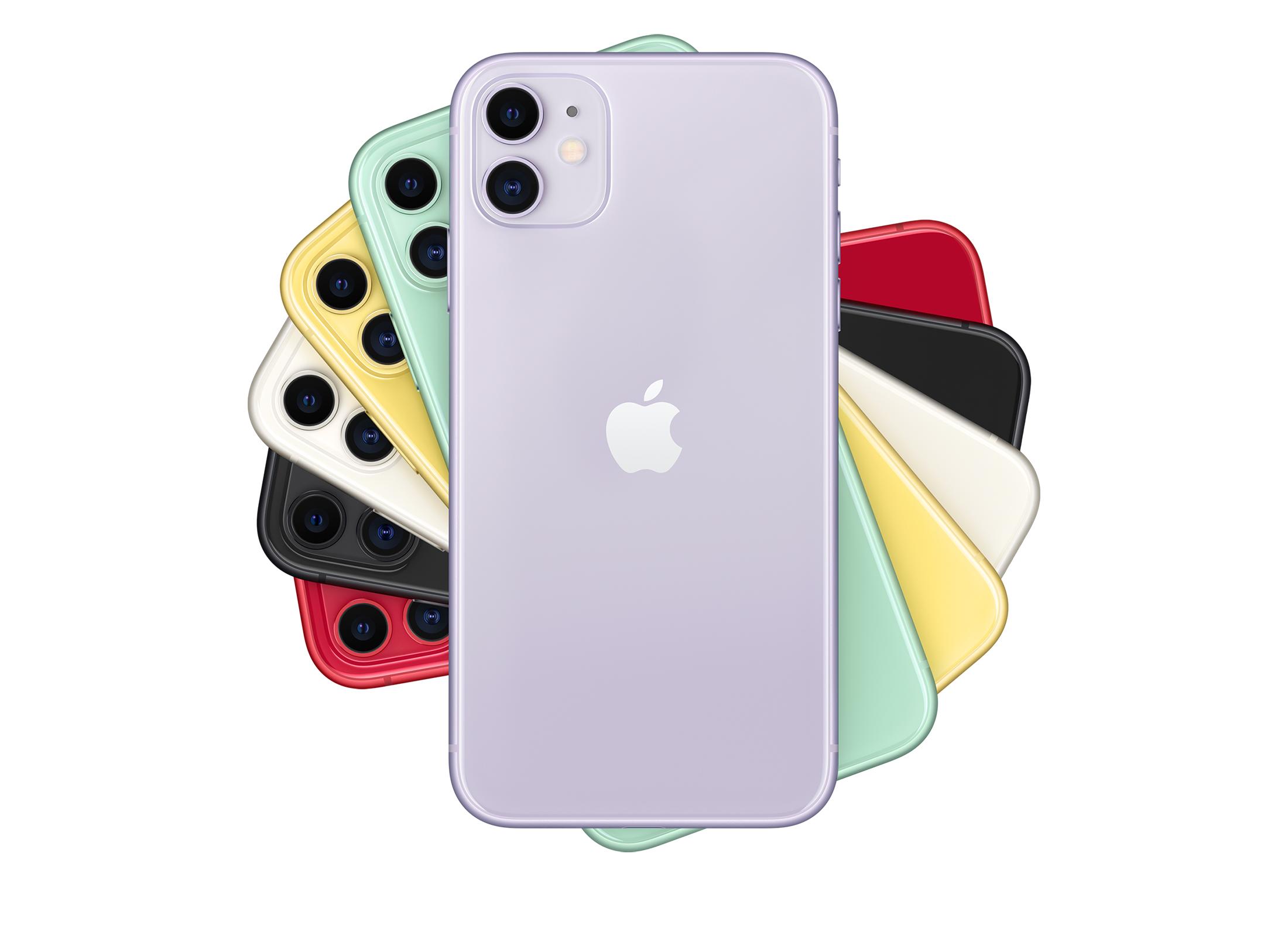 модели iPhone 11