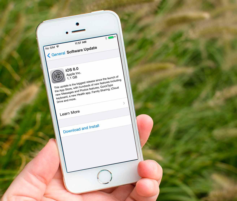 обновление старых iPhone